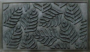 fern-leaves-rubber-door-mat