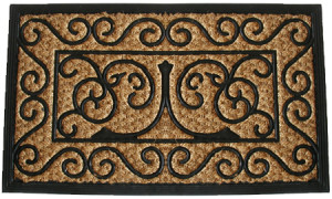 gothic-iron-design-door-mat