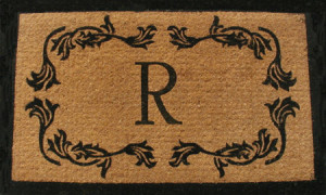 leaf-border-personalized-door-mat