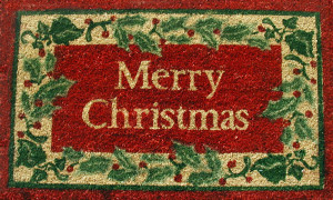 merrry-christmas-holly-welcome-mat