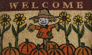 Weclome Door Mat Welcome Doormat Cm X Cm Weclome Printed