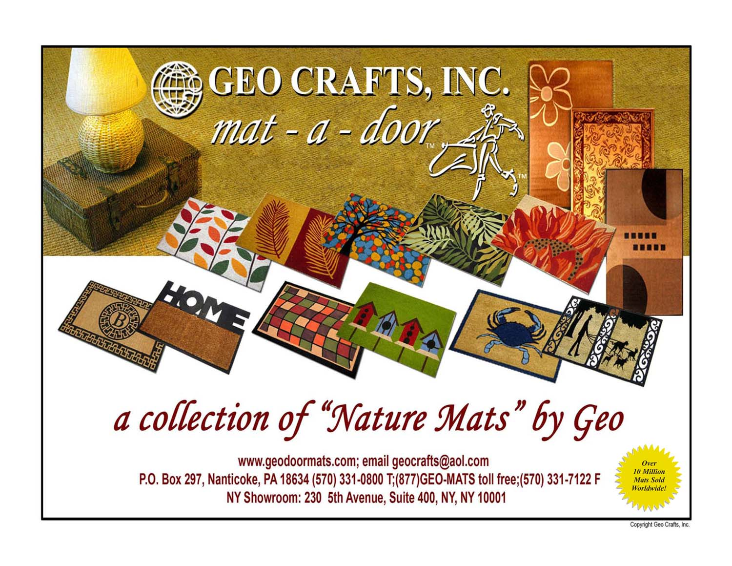GEO-Crafts-door-mat-catalog 2016 -