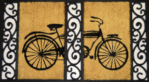 bicycle-door-mat