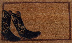 cowboy-boot-country-door-mat-G325