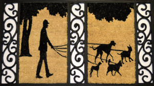 dog-walker-door-mat