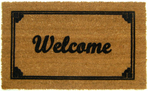 flocked-welcome-mat