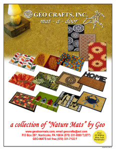 GEO door mat catalog 2018-19